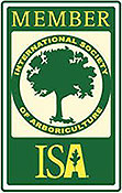 Ray Williamson Tree Service is a member of ISA - 